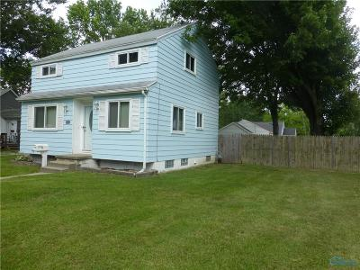 Toledo OH Single Family Home For Sale: $108,500