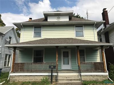 Toledo OH Single Family Home For Sale: $19,000