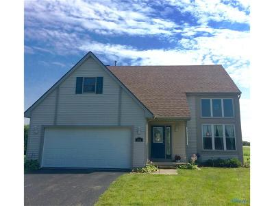 Perrysburg Single Family Home For Sale: 7391 Twin Lakes Road