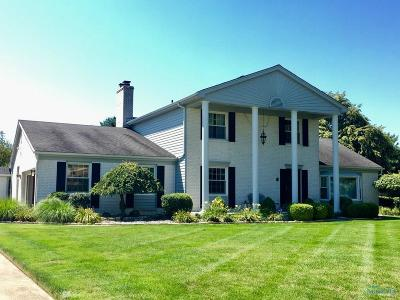 Maumee Single Family Home For Sale: 7035 Sandy Springs Road