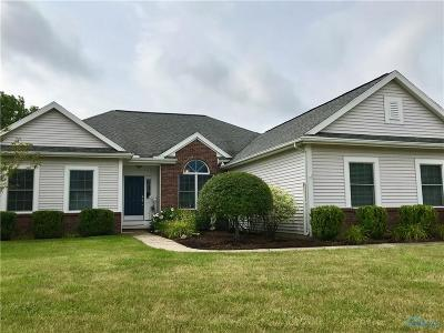 Maumee Single Family Home Contingent: 3086 Pebble Court
