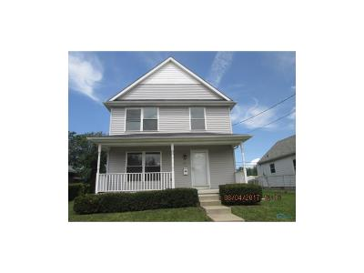 Toledo OH Single Family Home Contingent: $44,900