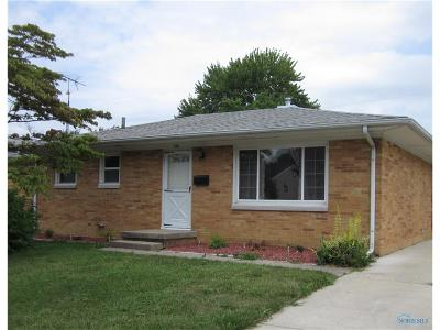 Maumee Single Family Home For Sale: 1126 Kirk Street