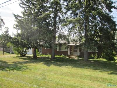 Curtice Single Family Home Contingent: 24267 W Reservation Line Road