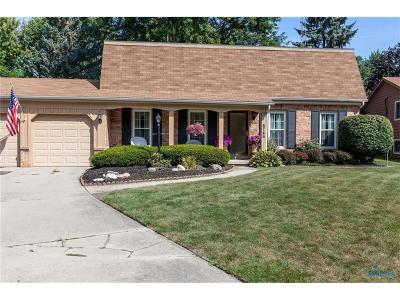 Maumee Single Family Home Contingent: 6746 Sue Lane