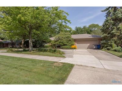 Toledo Single Family Home Contingent: 4032 River Road