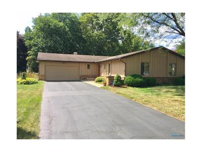 Maumee Single Family Home For Sale: 2424 Morningdew Boulevard