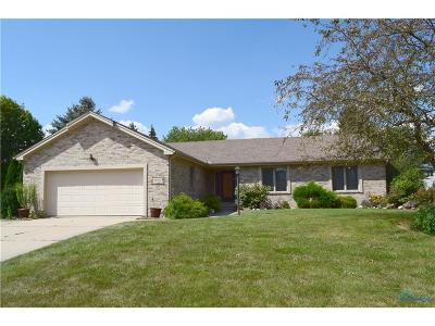 Maumee Single Family Home For Sale: 6906 Heather Cove Place