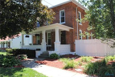 Single Family Home For Sale: 718 Sandusky Street