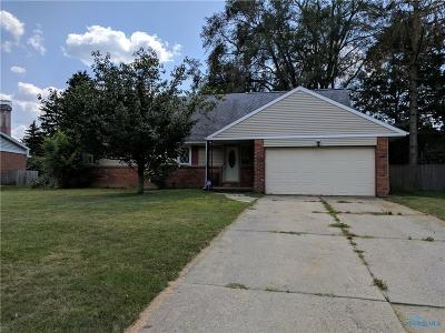Toledo Single Family Home For Sale: 3723 Dewlawn Drive