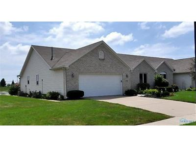 Maumee Condo/Townhouse For Sale: 4401 Clearwater Drive