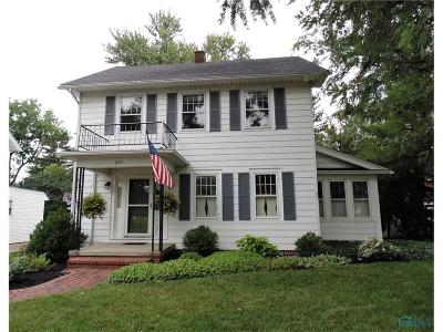 Maumee Single Family Home Contingent: 605 E William Street