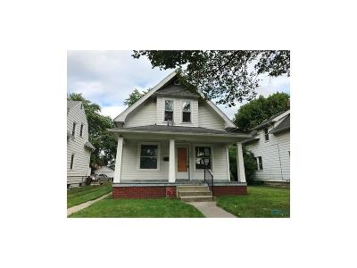Toledo OH Single Family Home For Sale: $62,540