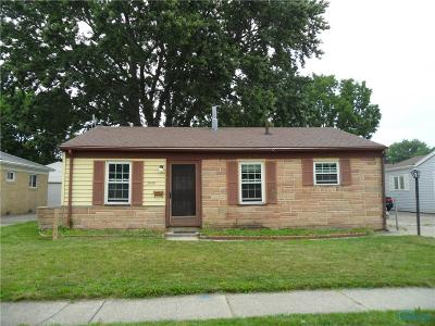 Toledo OH Single Family Home For Sale: $59,900