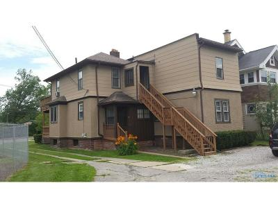 Toledo OH Multi Family Home For Sale: $87,000