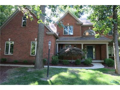 Maumee Single Family Home For Sale: 3450 Cedar Creek Court