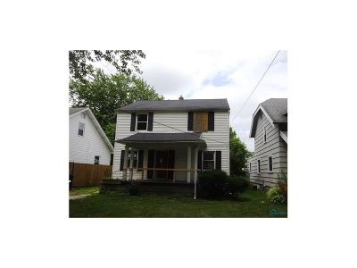 Toledo OH Single Family Home For Sale: $22,260