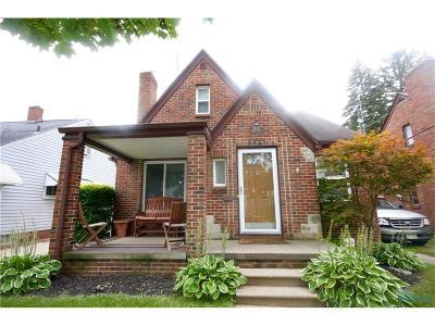 Toledo Single Family Home For Sale: 1423 Craigwood Road