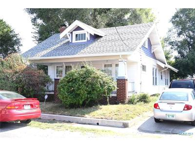 Toledo OH Single Family Home For Sale: $49,777