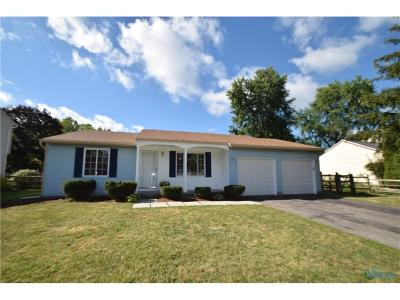 Maumee Single Family Home For Sale: 6451 Scarsdale Road