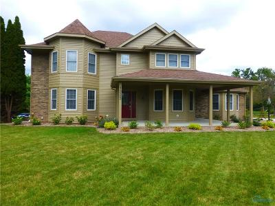 Perrysburg Single Family Home For Sale: 1225 Woodstream Road