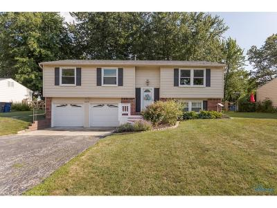 Perrysburg Single Family Home For Sale: 345 Edgewood Drive