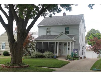 Toledo OH Single Family Home For Sale: $87,500