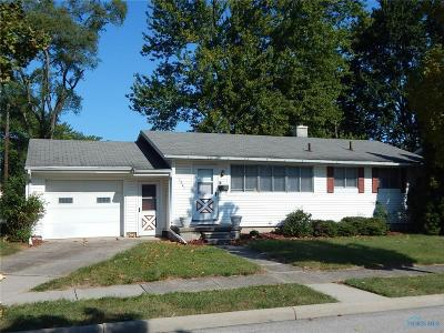 Maumee Single Family Home Contingent: 1341 Cranbrook Drive