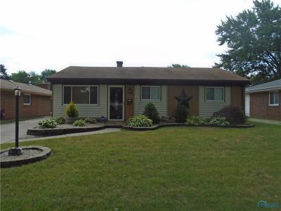 Toledo OH Single Family Home For Sale: $97,900