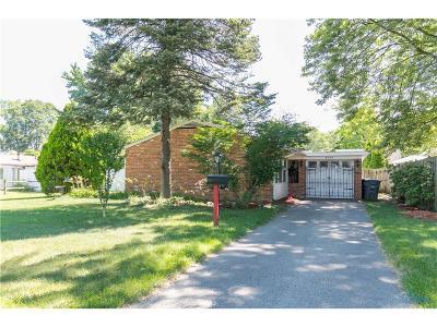 Toledo Single Family Home For Sale: 4314 Elmhurst Road
