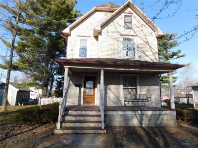 Single Family Home For Sale: 615 N Defiance Street