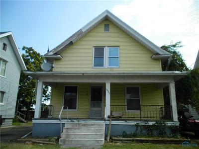 Toledo OH Single Family Home For Sale: $7,500