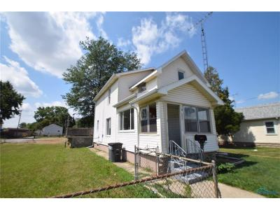 Toledo OH Single Family Home For Sale: $78,000
