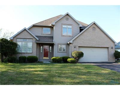 Perrysburg Single Family Home Contingent: 9868 Bishopswood Lane