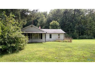Whitehouse Single Family Home Contingent: 12635 Waterville Swanton Road