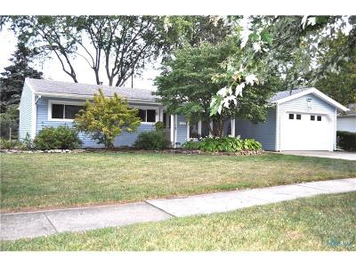 Perrysburg Single Family Home Contingent: 110 Lones Drive