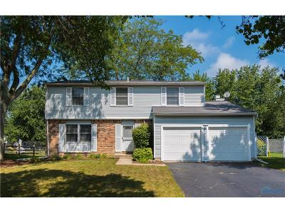 Perrysburg Single Family Home For Sale: 10372 Cliffwood Road