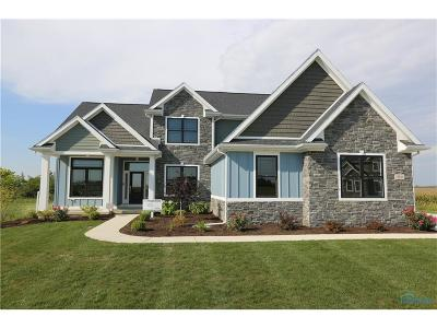 Ottawa Hills, Monclova, Oregon, Rossford, Swanton, Berkey, Metamora, Lyons, Whitehouse, Waterville Single Family Home For Sale: 8741 Treviso Circle