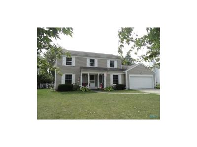 Perrysburg Single Family Home For Sale: 9605 Millcroft Rd.