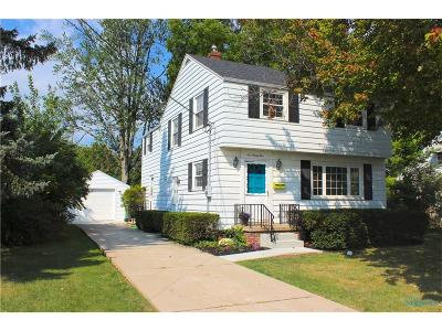 Maumee Single Family Home Contingent: 1095 Elco Avenue
