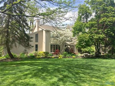 Perrysburg Single Family Home For Sale: 25909 Willowbend Road