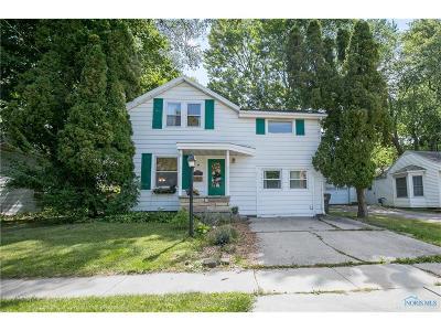 Maumee Single Family Home For Sale: 712 W Wayne Street