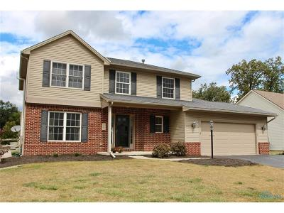 Perrysburg Single Family Home For Sale: 1867 Crossfields Road