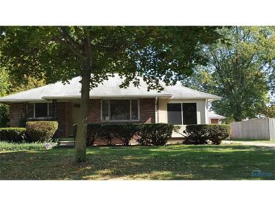 Maumee Single Family Home For Sale: 1018 Scribner Street