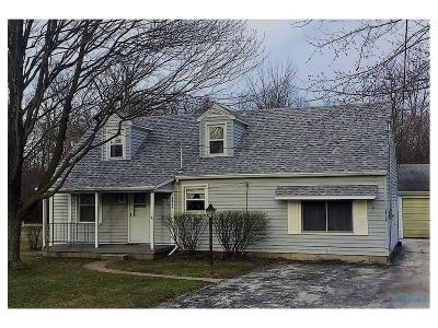Perrysburg Single Family Home Contingent: 26736 Lime City Road