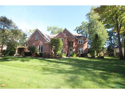 Maumee Single Family Home For Sale: 3447 Cedar Creek Court