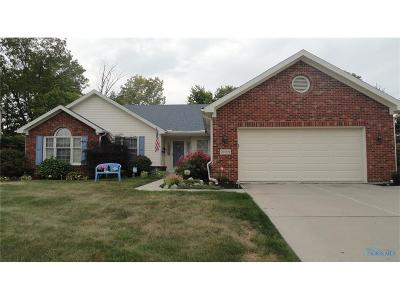 Perrysburg Single Family Home Contingent: 26969 Shawnee Drive