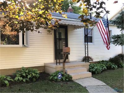 Maumee Single Family Home For Sale: 1138 Holgate Avenue
