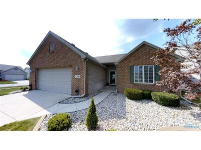 Maumee Condo/Townhouse Contingent: 4308 Crystal Ridge Drive