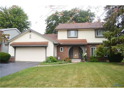 Maumee Single Family Home For Sale: 2606 Patrice Lane